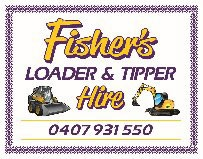 FISHER LOADER & TIPPER HIRE